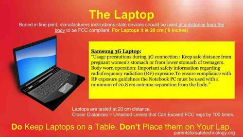 laptop rf warning